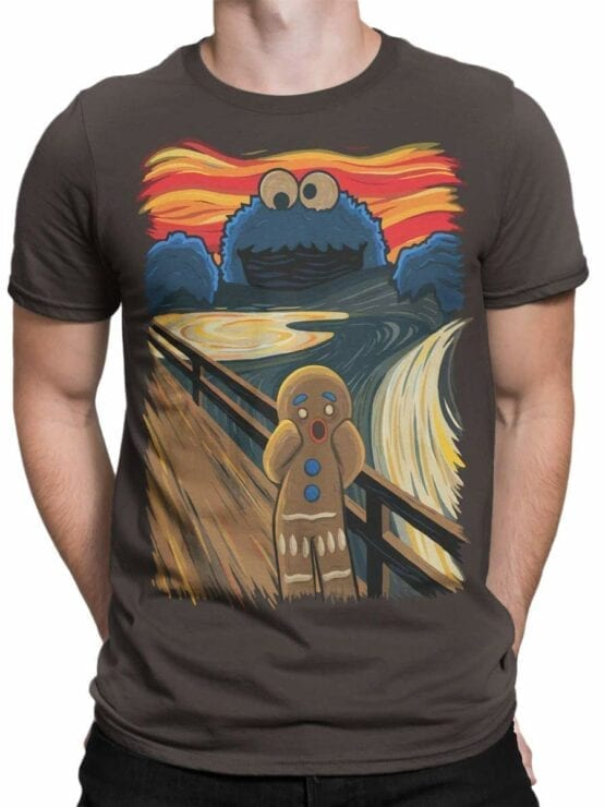 0515 Monster Shirts The Cookie Scream