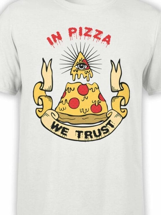 0518 Pizza T-Shirt We Trust