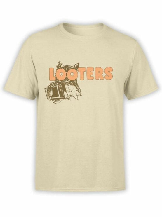 0523 Owl Shirt Looters