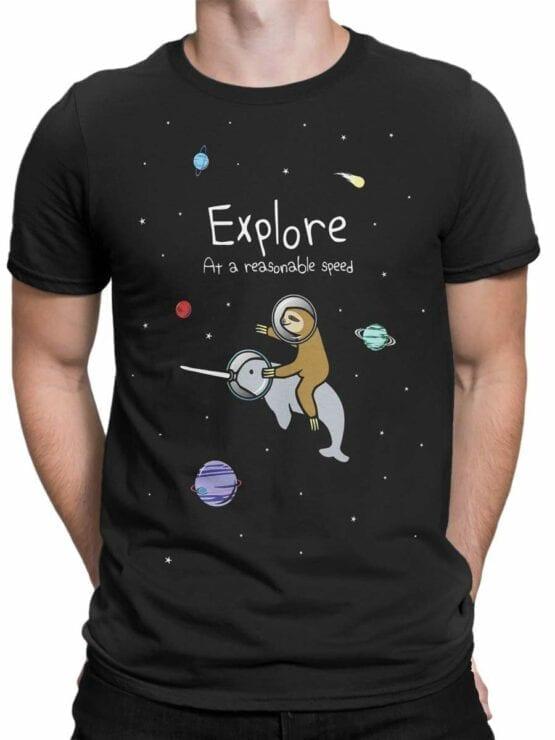 0524 Sloth T-Shirt Explore