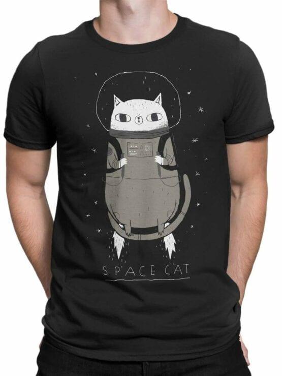 0526 Cat Shirts Space Cat