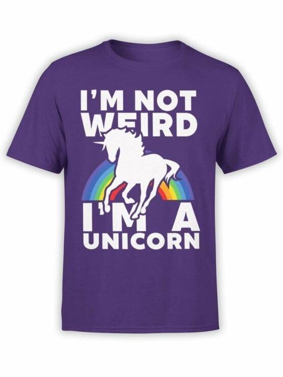 0530 Unicorn Shirt Weird