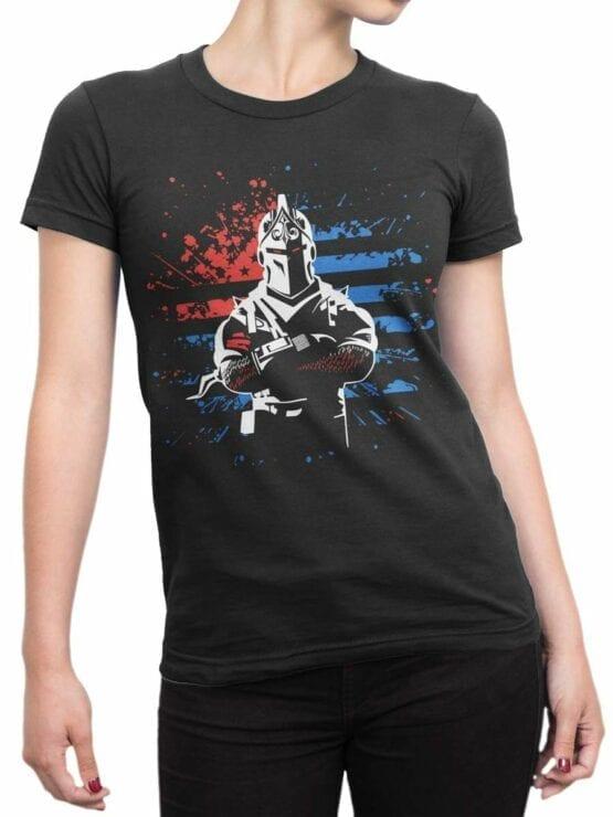 0533 Patriotic Shirts USA Knight