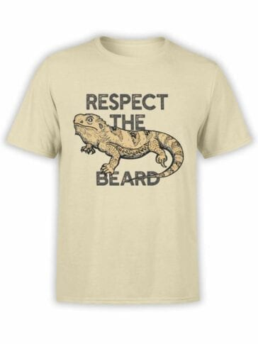 0537 Dragon Shirt Respect the Beard