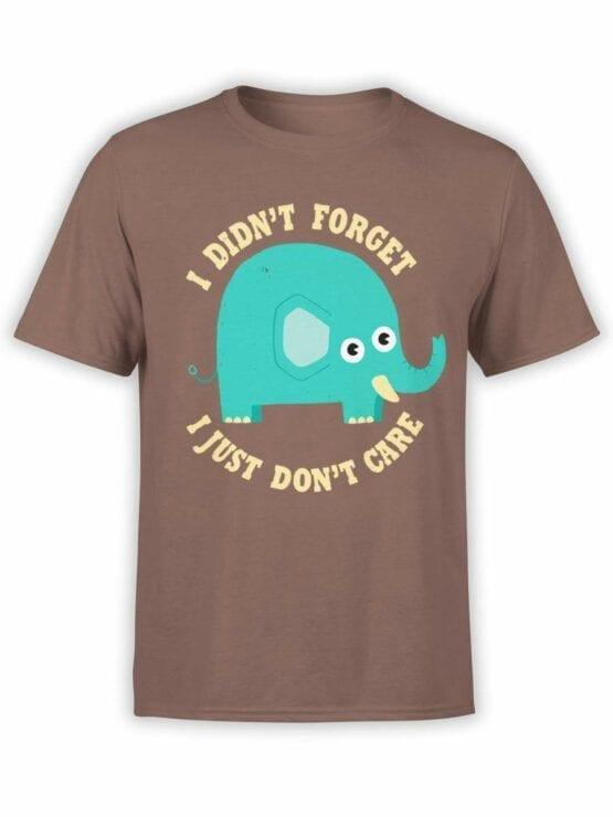0539 Elephant Shirt Don't Care