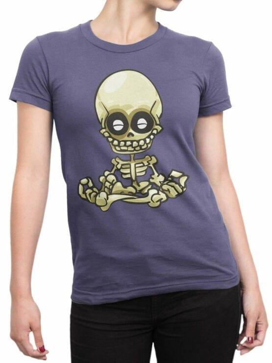0548 Skull Shirt Meditation