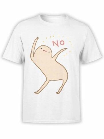 0549 Cool T-Shirts Honest Blob Says No