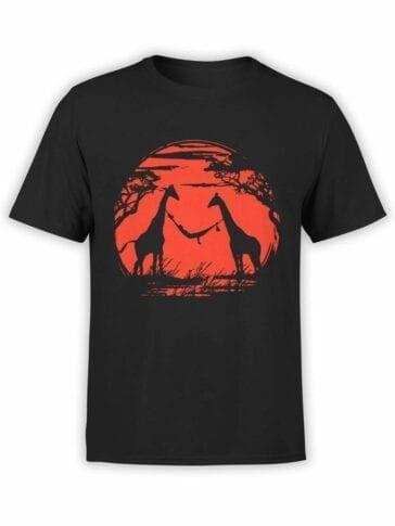 0550 Cool T-Shirts Giraffes