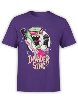 0552 Alien Shirt Invader Sing_Front