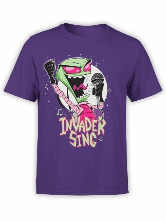 0552 Alien Shirt Invader Sing_Front