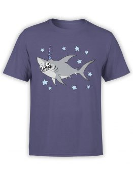 0555 Unicorn Shirt Unishark