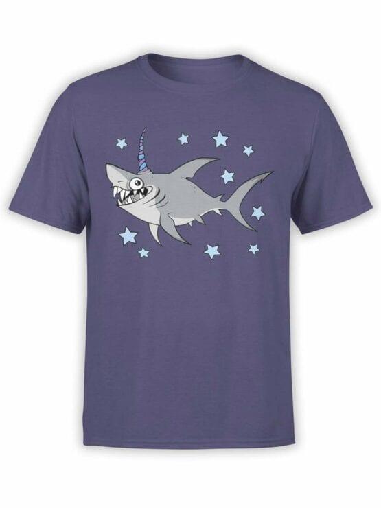 0555 Unicorn Shirt Unishark