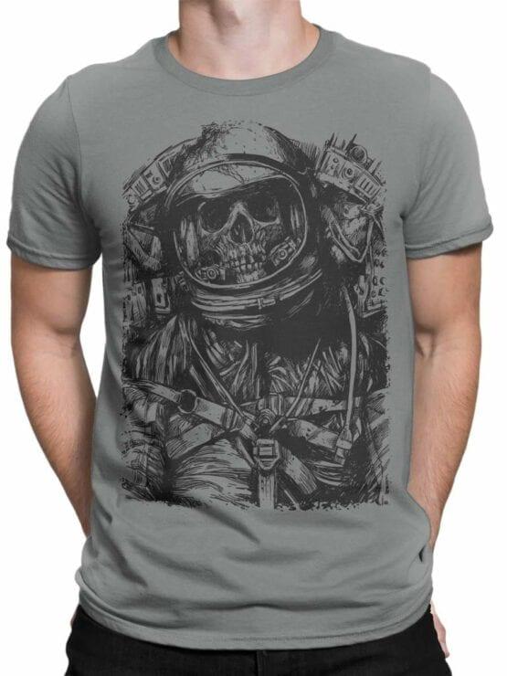 0556 Skull T-Shirt Dead Astronaut