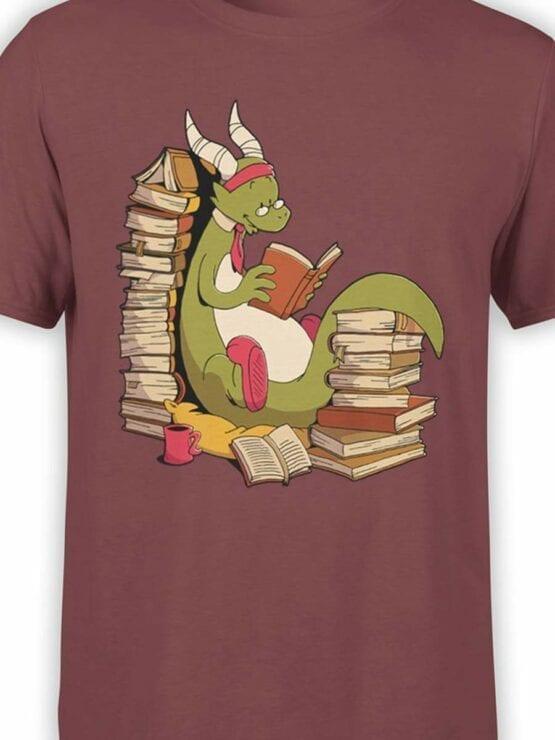 0560 Dragon T-Shirt Book Wyrm_Front_Color
