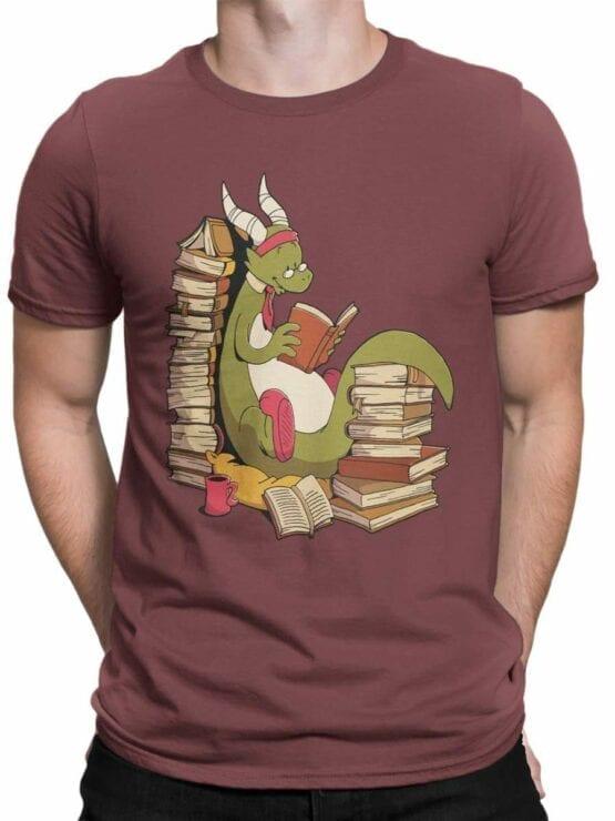 0560 Dragon T-Shirt Book Wyrm_Front_Man