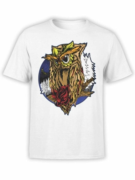 0561 Owl Shirt Night_Front