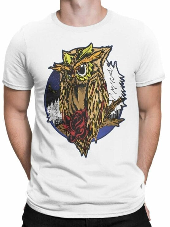 0561 Owl Shirt Night_Front_Man