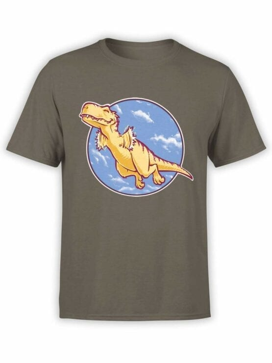 0564 Dinosaur T-Shirt I Can Fly_Front