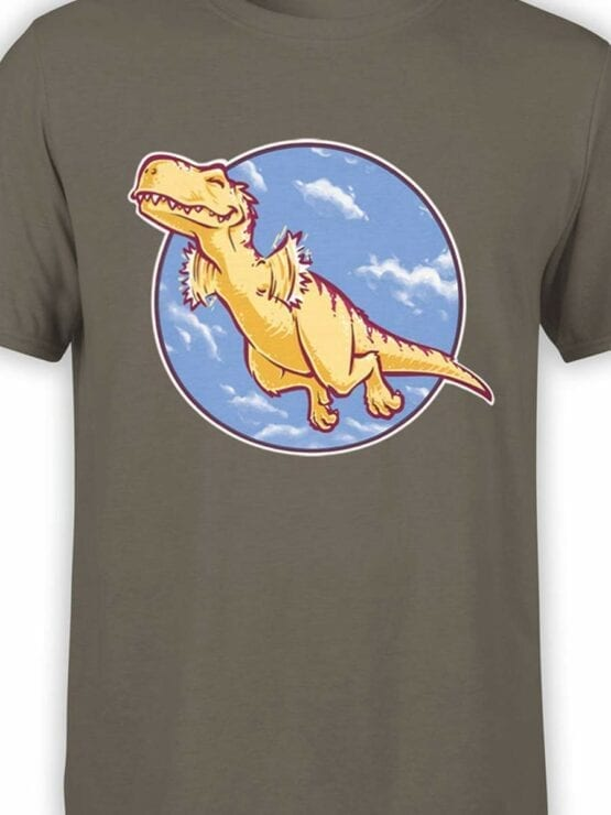 0564 Dinosaur T-Shirt I Can Fly_Front_Color