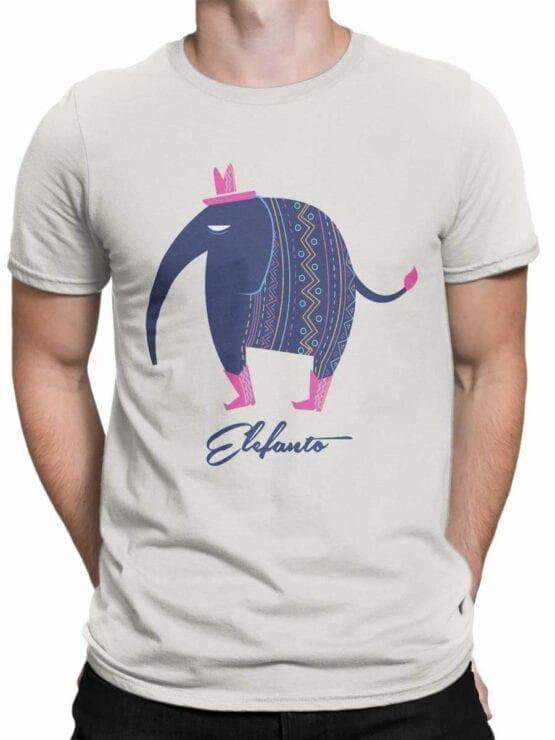 0567 Elephant Shirt Elephanto_Front_Man