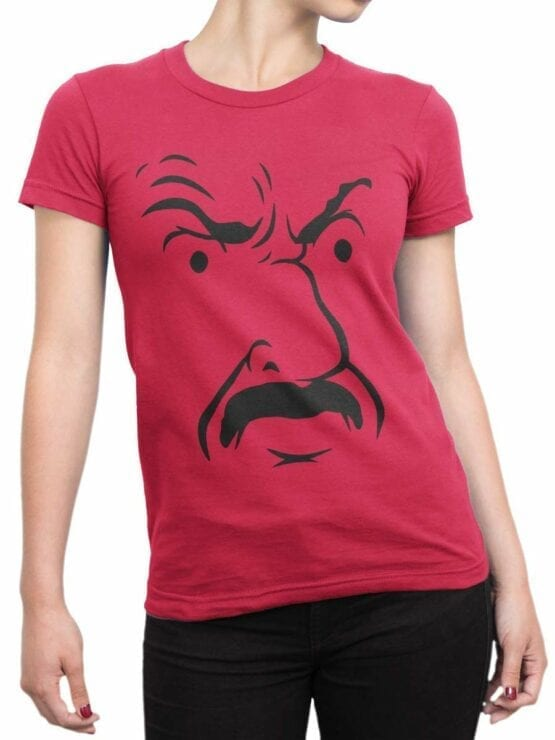 0569 Funny T-Shirts Shut Up_Front_Woman