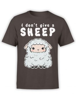 0570 Funny T-Shirts Give a Sheep_Front