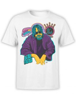 0573 Big Lebowski T-Shirt Obviously_Front