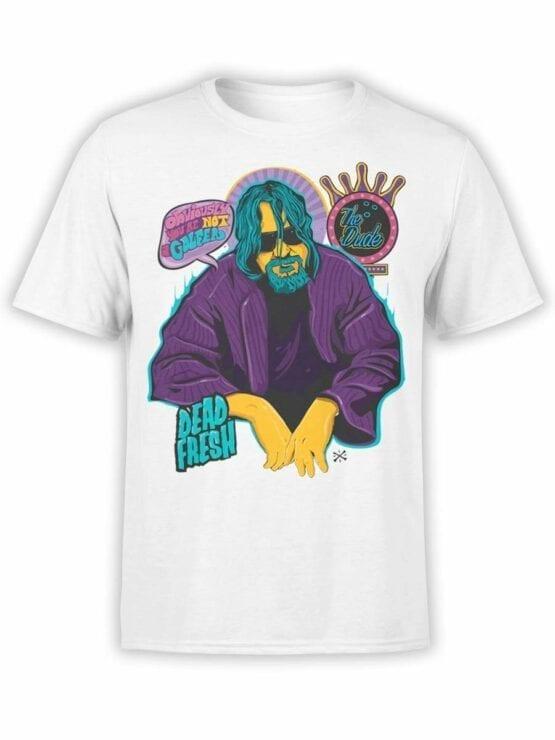 0573 Big Lebowski T-Shirt Obviously_Front