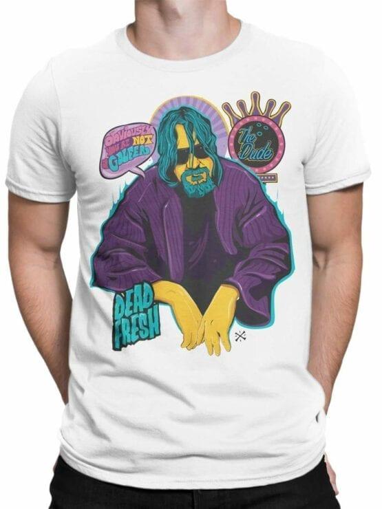 0573 Big Lebowski T-Shirt Obviously_Front_Man