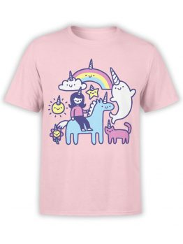 0575 Unicorn Shirt Unicorns Everywhere_Front