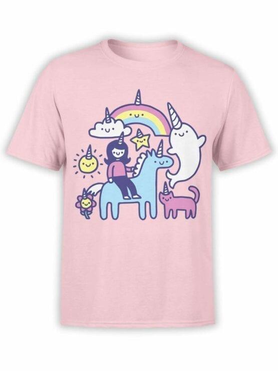 0575 Unicorn Shirt Unicorns Everywhere_Front
