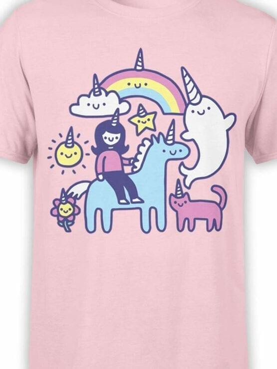 0575 Unicorn Shirt Unicorns Everywhere_Front_Color