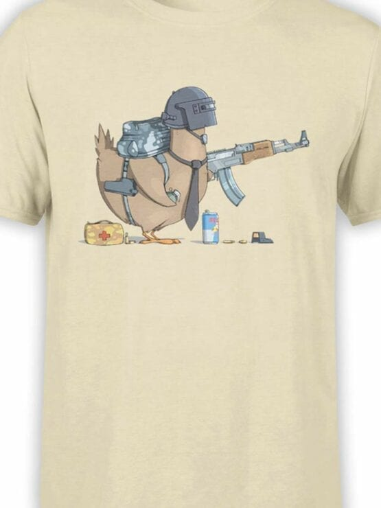 0576 Funny T-Shirts Chicken Winner_Front_Color