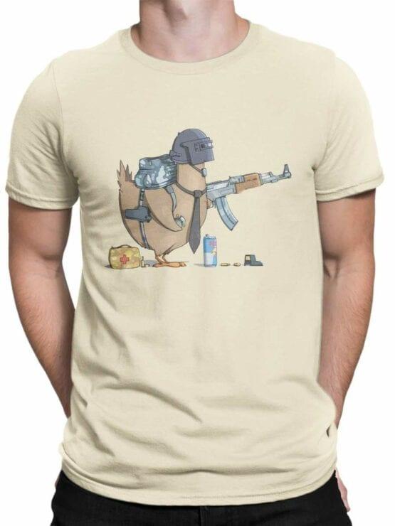 0576 Funny T-Shirts Chicken Winner_Front_Man