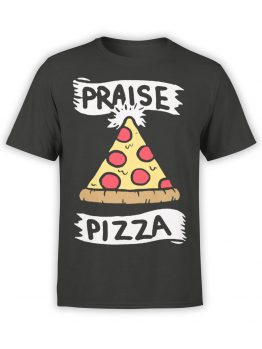 0579 Pizza T-Shirt Praise Pizza_Front