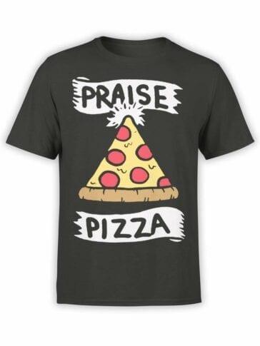 0579 Pizza T-Shirt Praise Pizza_Front