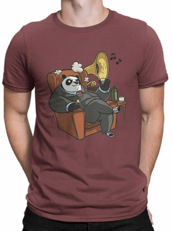 0580 Panda T-Shirt Mr Panda_Front_Man