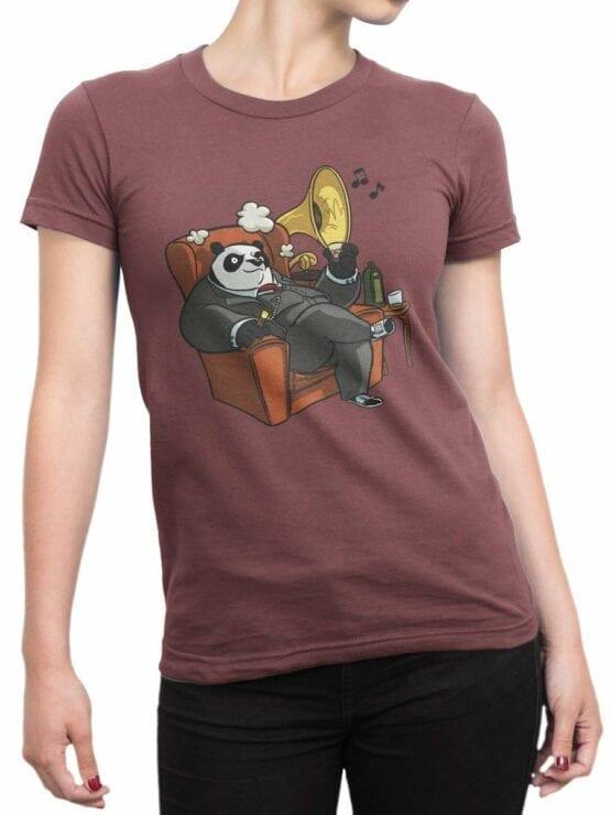 0580 Panda T-Shirt Mr Panda_Front_Woman