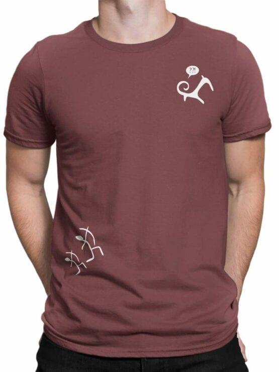 0582 Archeology Shirt Hunt_Front_Man