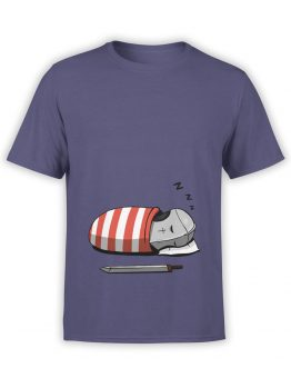 0583 Knight Shirt Sleeping Knight_Front