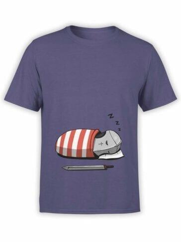 0583 Knight Shirt Sleeping Knight_Front
