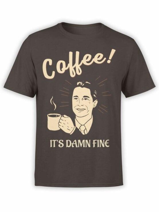 0586 Coffee Shirts Damn Fine_Front