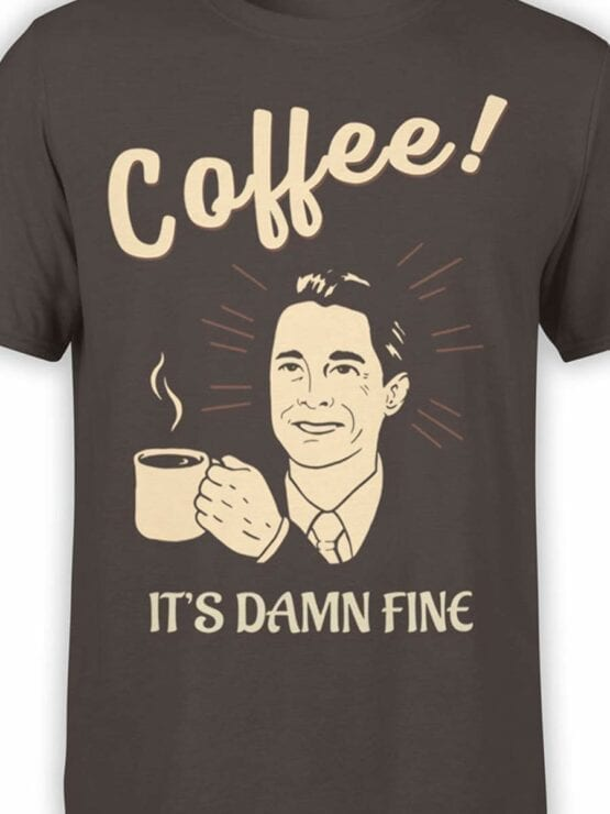 0586 Coffee Shirts Damn Fine_Front_Color