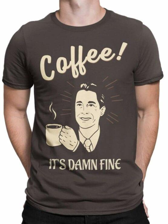0586 Coffee Shirts Damn Fine_Front_Man
