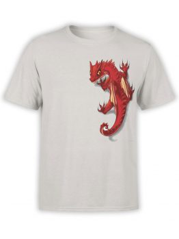 0587 Dragon Shirt Friend_Front Silver