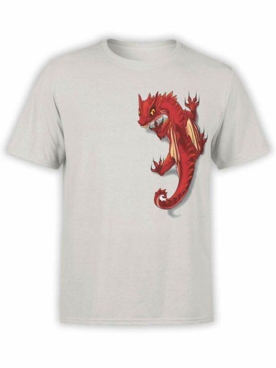 0587 Dragon Shirt Friend_Front Silver