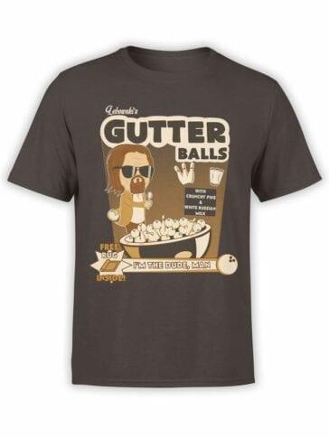 0591 Big Lebowski T-Shirt Gutter_Front