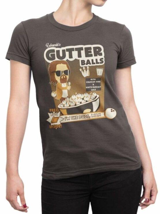 0591 Big Lebowski T-Shirt Gutter_Front_Woman