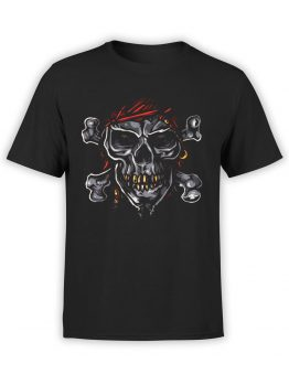 0593 Pirate Shirt Jolly Roger_Front