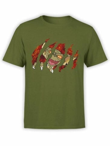 0595 Cool T-Shirts Gremlin Inside_Front